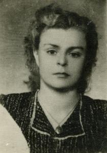 Dalia Grinkeviciute 1955 als Studentin in Omsk